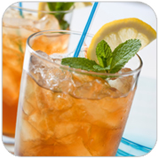 Iced Tea with low calorie sweetener Cyclamate